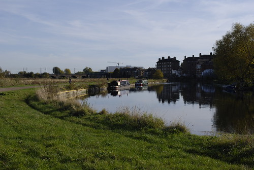 River Lee, Walthamstow Marshes