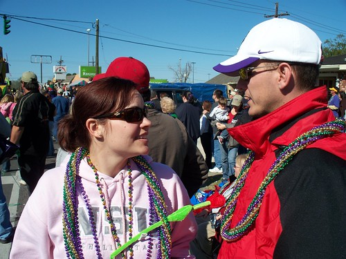 Heather and Will at the parade
