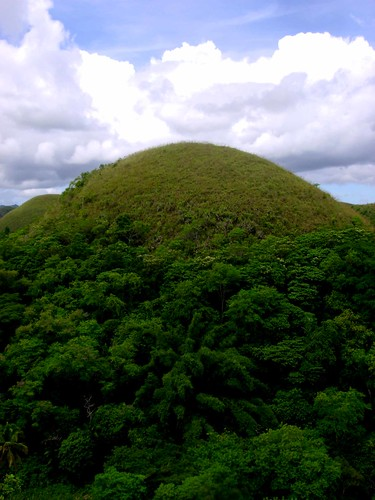 Not so cholaty. Chocolate hills complex.