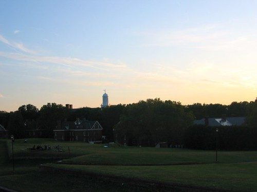 View of Governors Island from Fort Jay.