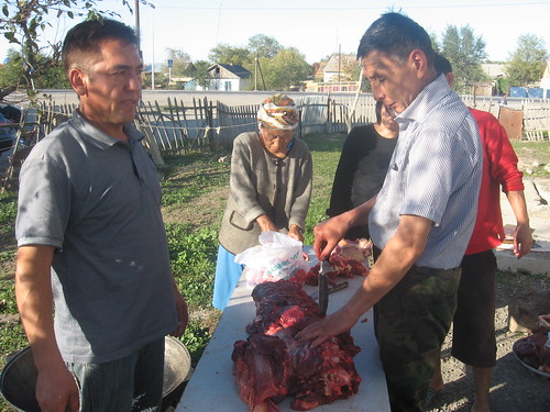 Cutting up a Cow