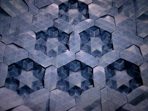 Framed Star Tessellation 12 by you.