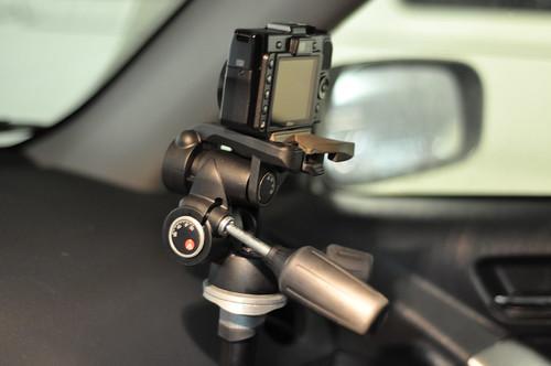 Car time lapse setup