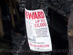 Arson Reward