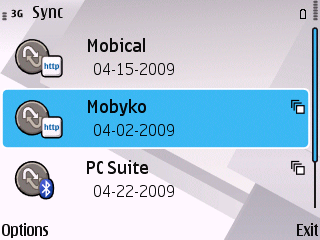 Mobyko SyncML Profile