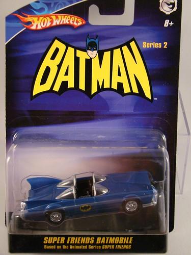 HWs Super Friends Batmobile