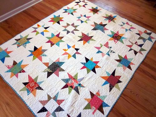 Maverick Star Charity Quilt by jrcraft.