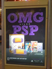 Lilac PSP ad - photo by alist on Flickr