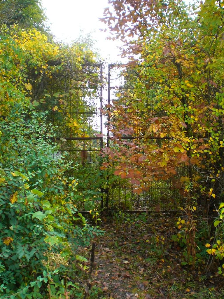 Entrance to Jordan Lane