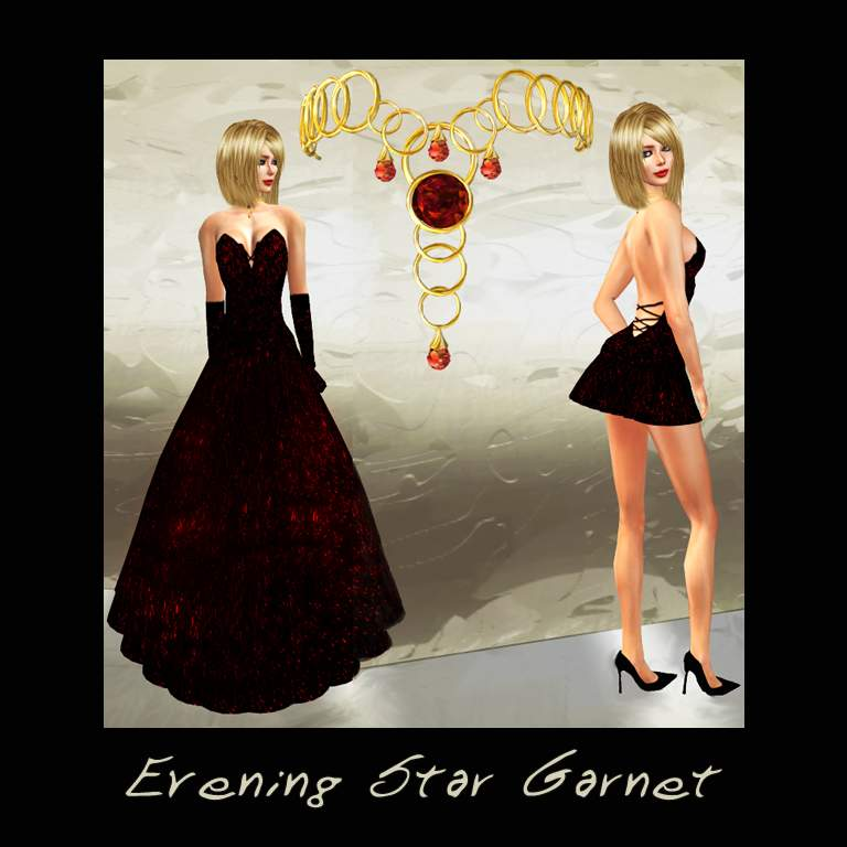 Evening Star Garnet by Silk & Satyr