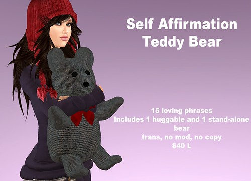 Self Affirmation Teddy Bear