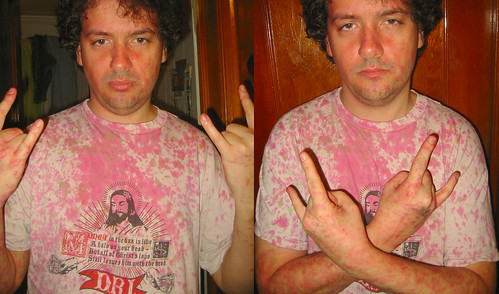 20081214 - after the Gwar concert - 173-7337-diptych-173-7344 - Clint - pinked shirt - please click through to leave a comment on FlickR