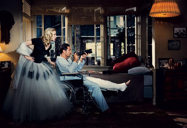 Rear Window, 1954 - Scarlett Johanson & Javier Bardem