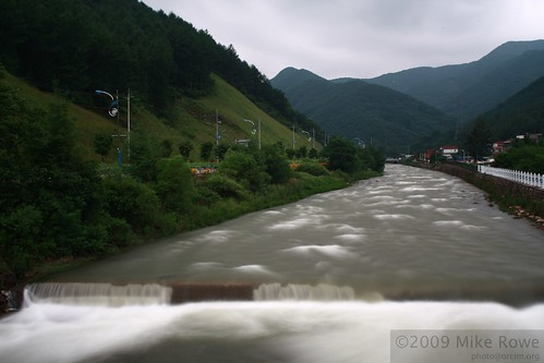 The full rivers of Taebaek