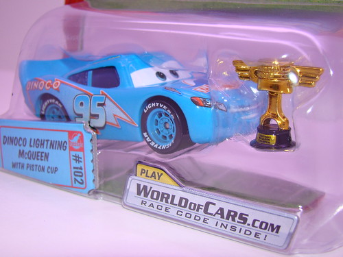 CARS Dinoco McQueen Chase piston cup (2)