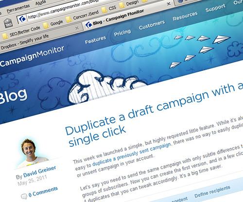 Blog Campaign Monitor