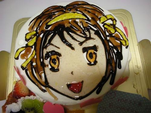 Haruhi cake for my 25th birthday