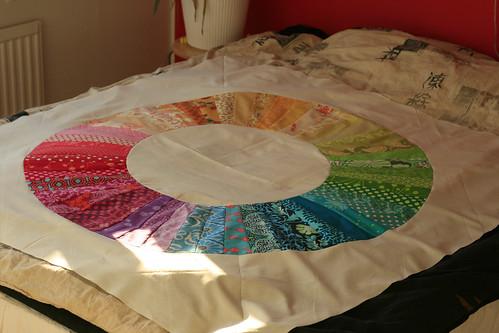 Color Wheel Quilt