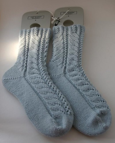 Finished Rococo socks