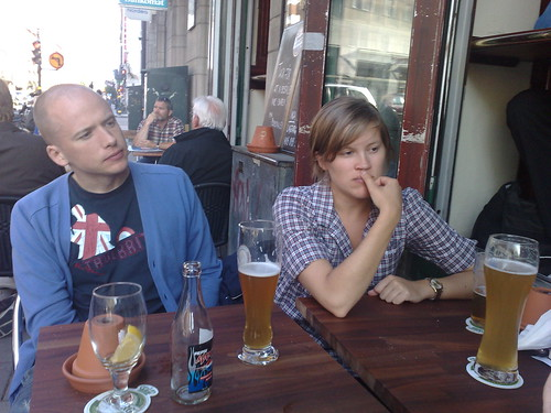 Daniel och Josefine på McInnlay's