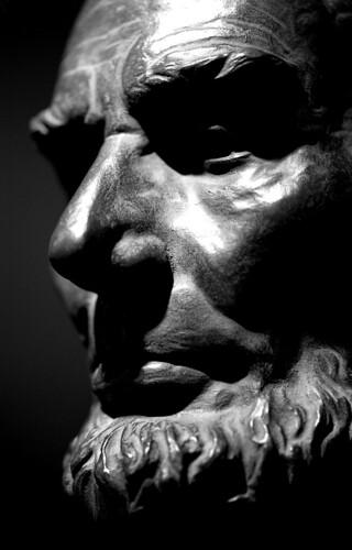 """Abraham Lincoln"" — George Bissell. (Kodak T-Max 400. Nikon F100. Epson V500.)"