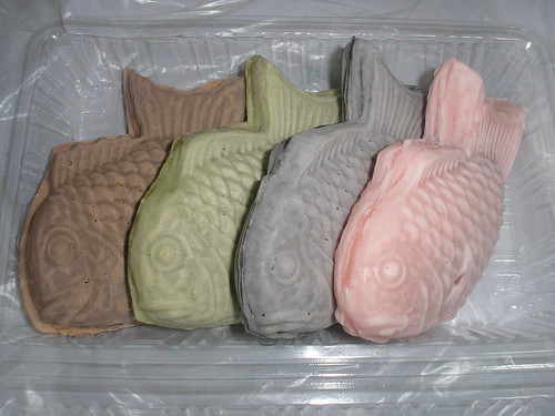 A rainbow of Taiyaki