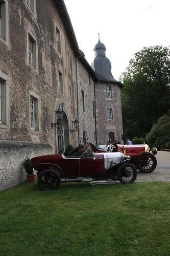 Benjamin Typ B 1922 beim Schloss Dyck