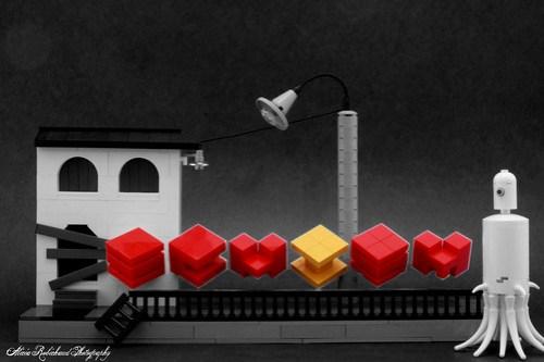 LEGO SCHISM artwork