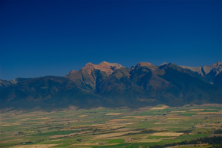 Mission Mountains, Montana
