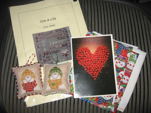 SBEBB Frosty Friends exchange from Gaby