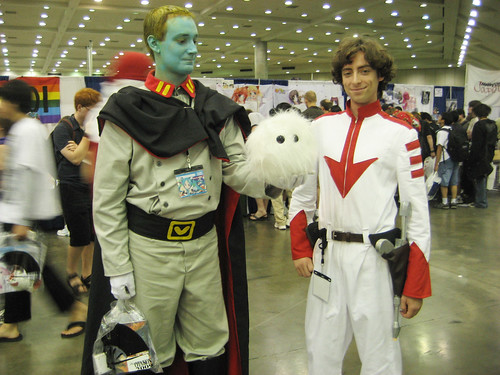 Dethler and Susumu Kodai (Derek Wildstar) from Space Battleship Yamato