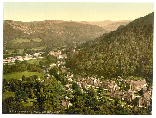 [General view, Bettws-y-Coed (i.e. Betws), Wales] (LOC)
