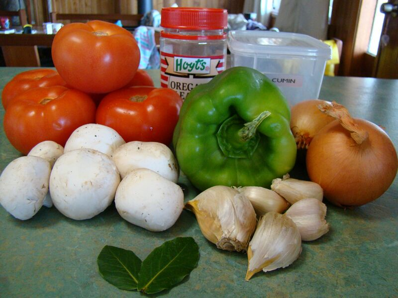 Ingredients for the Sofregit