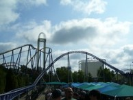Cedar Point - Millennium Force, Power Tower, and Mantis