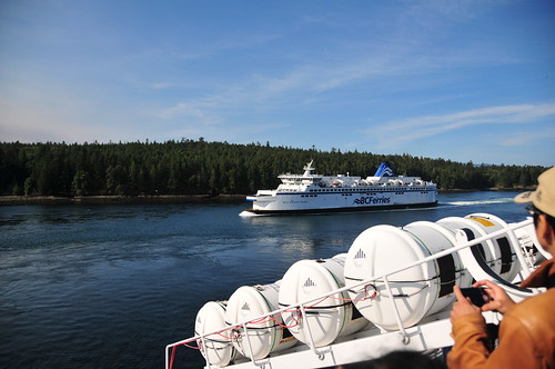Ferry to Victoria, British Columbia
