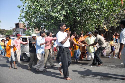 Kaali procession 1