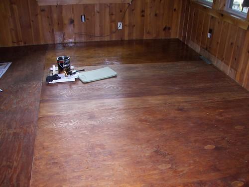 Floor:  In Progress