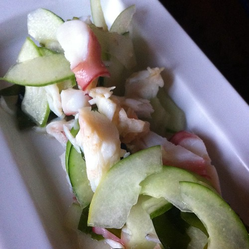 Sunomono Salad @ Stevenson's Library