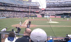 Yankees at the A's