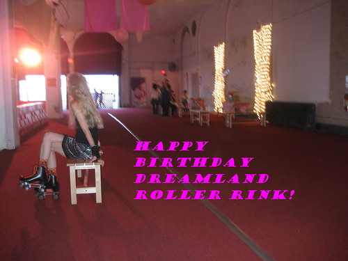 Happy First Birthday to Lola Staars Dreamland Roller Rink! Photo © Tricia Vita/me-myself-i via flickr