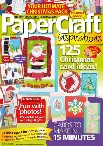 Heres PaperCraft inspirations November 2009 cover.