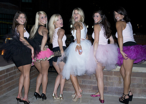 The tutus and bachelorettes in San Diego!
