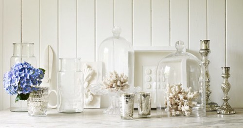 Pale & Interesting (and decorating tips with glass)