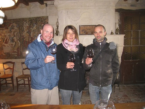 Wine tasting at Chateau Maurezin
