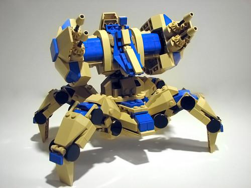 Starcraft 2 Lego Immortal