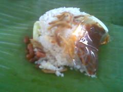 Kuching's nasi lemak