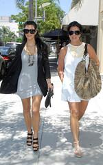 """Kim Kardashian wearing Benjamin Eyewear """"..."""