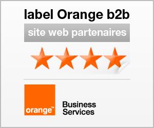 logo label Orange b2b partenaires