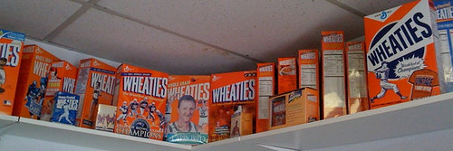Wheaties Boxes at Minuteman Parking Offices