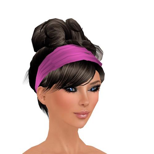 [Curio] Paper Tiger 1 - Black with Pink headband